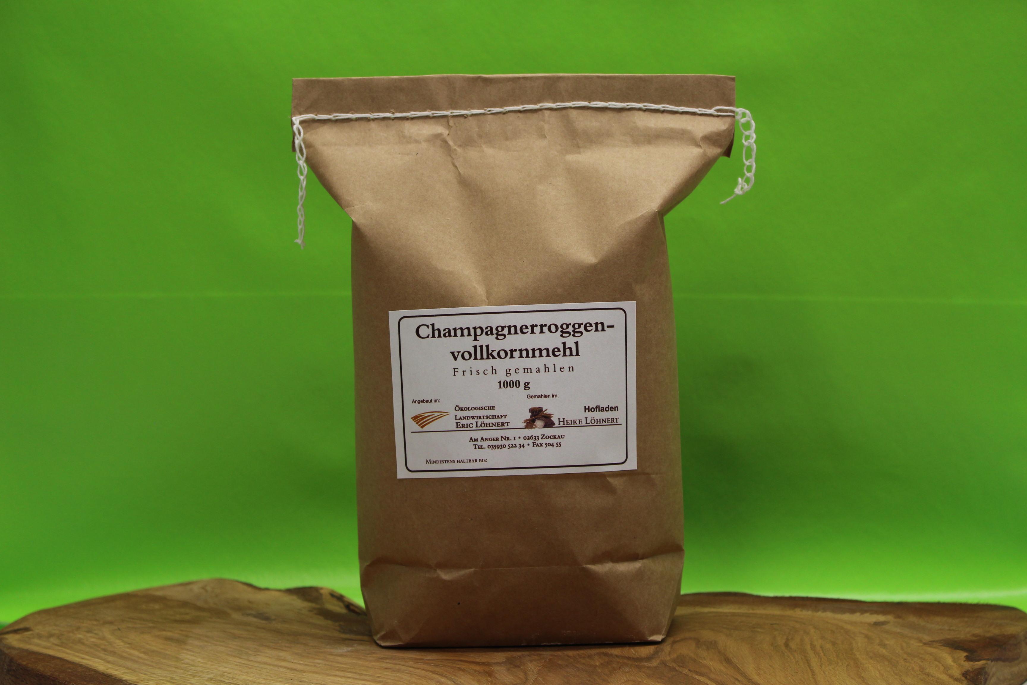 Champagnerroggenvollkornmehl